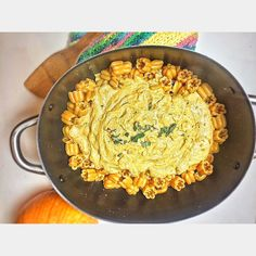 Advice from a pumpkin:  Be well rounded get plenty of sunshine give thanks for lifes bounty have thick skin  keep growing be outstanding in your field and Think BIG . . .  Im getting ready for Halloween and all things pumpkin with TraderJoes.... #FlashbackFriday to last years pumpkin pasta recipe. We used  Fall Zuchette Pasta. A pumpkin-shaped pasta that derives its orange hue from butternut squash. Individual pieces are small enough to fit a few on a fork or spoon and their shape makes it…