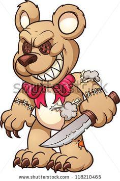 bear Bear Vector, Vector Free, Vector Stock, Evil Teddy Bear, Teddy Bear Drawing, Superman, Batman, Brother Tattoos, Cd R