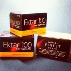 Analoger Nachschub - Kodak Ektar 100