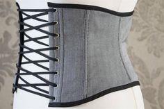 Fischgrat Herringbone Korsage Taillengürtel
