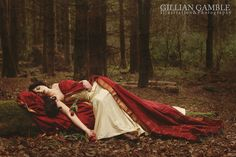 Gillian Gamble Pre-Raphaelite Passion  Model: Sula Powell Hair & Makeup: Sandra Cormack