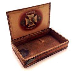 For sale on ebay: http://www.ebay.com/itm/Antique-Cigar-Box-Halls-Ponies-Factory-No-1850-New-York-NYC-Claro-Havana-Old-/251908000402