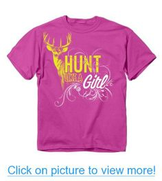 Buck Wear Hunt Like A Girl Short Sleeve Tee