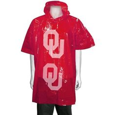 Don't let rain get in your way. Stay dry with this OU poncho.
