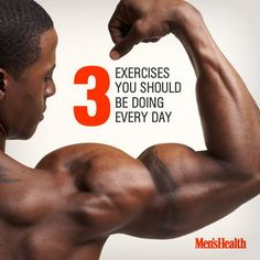 Make these your go-to moves. #arms #workout #exercise http://www.menshealth.com/fitness/daily-exercises?cid=soc_pinterest_content-fitness_july14_3exercisesyoushoulddo