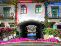 Puerto de Mogan, also known as Little Venice, is a must-visit during your stay in Gran Canaria.