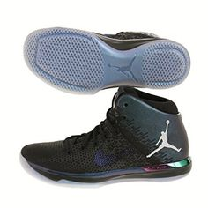 Leather - Brand New - Authentic - Money back guaranteed - Air Jordan Mens XXXI  31 ASW All Star Game Basketball shoes Black Also look this 317939c89