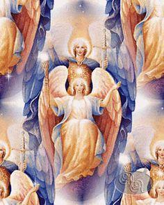 Arcángel Miguel y Señora Fe  Archangel Michael & Lady Faith