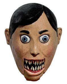 Halloween Club, Trendy Halloween, Maske Halloween, Halloween Masks, Villain Mask, Ventriloquist Doll, Purge Mask, Prosthetic Makeup, Horror Masks