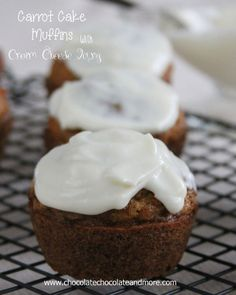 Carrot Cake Muffins - Chocolate Chocolate and More!