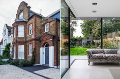 Traditional Family home - Out with the old in Streatham Victorian house becomes modern family home. Edwardian House, Victorian Homes, Modern Family, Home And Family, Modern Conservatory, Contemporary Garden Rooms, Aluminium Windows And Doors, Taupe Walls, House Extension Design