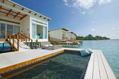 Traveling abroad can bring surprises — like checking into a Holiday Inn in the Maldives.