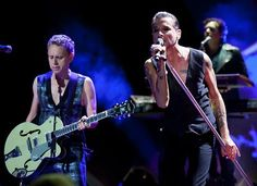 Depeche Mode, Dave Gahan, Martin Gore