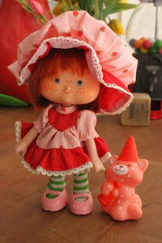 My room was decorated completely in Strawberry Shortcake when I was a little girl.