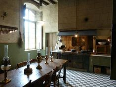 Chateau de Gizeux (France) - cuisines
