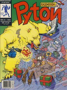 Cover for Pyton (Bladkompaniet, 1988 series) #13/1993