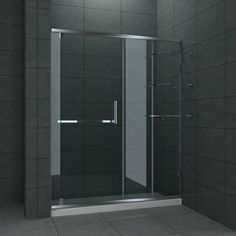 1000 Images About Bathroom Frameless Sliding Shower Doors