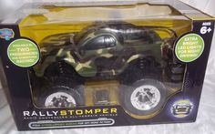 Blue Hat Rally Stomper Camo Radio Controlled All- Terrain Vehicle New In Box