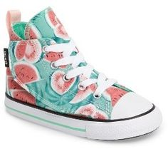Infant Girl's Converse Chuck Taylor All Star 'Simple Step' High Top Sneaker