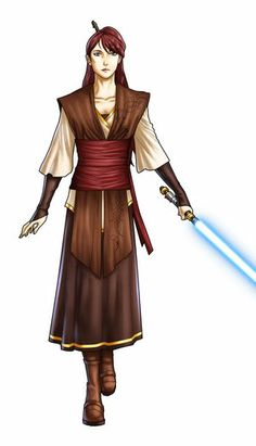 Jedi Robe Instructions | The Cast and Characters