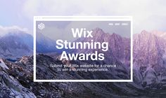 In celebration of Wix reaching 100 million users, we're launching The Stunning Awards! Submit your website for a chance to win unforgettable prizes. Once In A Lifetime, Awards, Website