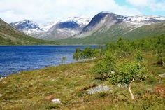 Keski-Skandinavian vaellusreitit - Harri Ahonen - #kirja #keskiskandinavia #vaellusreitit #vaeltaminen #skandinavia #Ulvådalsvatnet