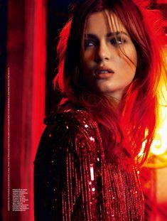 Josephine Skriver by Nicole Heiniger for Elle Brazil January 2014
