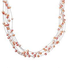 Valero Pearls Damen-Collier 925 Silber rhodiniert Perle Süßwasser-Zuchtperle - 609230 - http://schmuckhaus.online/valero-pearls-12/valero-pearls-damen-collier-925-silber-perle