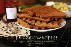 Easy Paleo Waffles