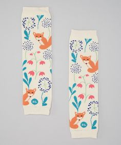 Super cute fox baby legs legwarmers #baby #fox