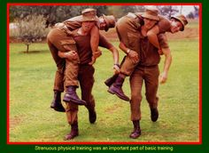 SADF.info  Strenuous physical training was an important part of basic training.