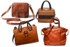 boxy leather bags