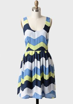 Maggie Chevron Dress By BB Dakota at #Ruche @shopruche