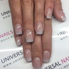 Nude Ombré Nails