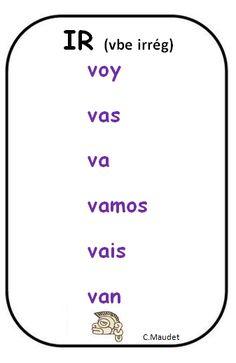 Verbo IR (irregular)