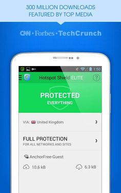 Hotspot Shield Elite VPN v3.4.5 MOD Apk Screen Shot 1