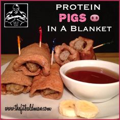 protein pigs in a blanket - THE FIT BALD MAN
