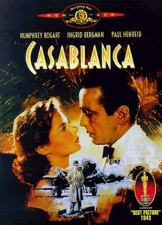 "The 1942 film ""Casablanca,"" set in the midst of World War II, tells one of the great love stories. It will be shown at the Wichita Theatre."