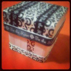 Tie the Knot wedding favor box