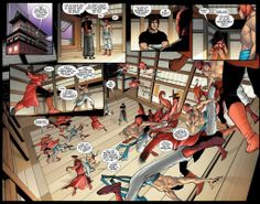 Spider-Man learning kung-fu in Amazing Spider-Man #666.