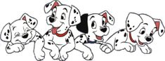 Stunning image - - from the clip art category animated 101 Dalmatians gifs & images! Disney Kunst, Disney Art, Disney Pixar, Disney Characters, Disney Tattoos, Disney Coloring Pages, Animation, Disney And More, Disney Wallpaper