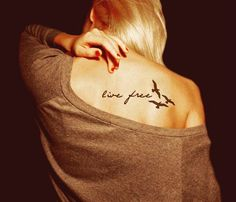 Short Life Quote Tattoos for GIrls - Short Life Quote Tattoos for GIrls