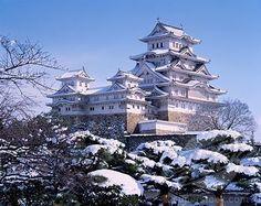 【白の城 】冬の姫路城 兵庫県 Himeji Castle, Hyogo, Japon