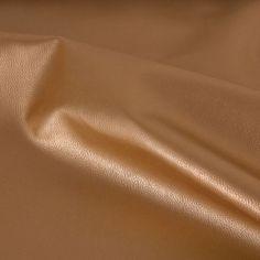 _*Kunstleder gold*_ 82% PVC, 18% PL 140 cm breit  Ware wird locker gefaltet geliefert