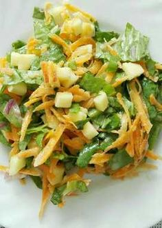 Healthy Salads, Healthy Eating, Healthy Recipes, Salad In A Jar, Tortilla Soup, Cooking Classes, Salad Recipes, Cabbage, Food And Drink