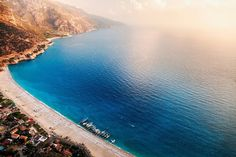 Famous Blue Lagoon, Muğla Province, South West Turkey