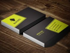Editor Business Card Template by JigsawLab on @creativemarket
