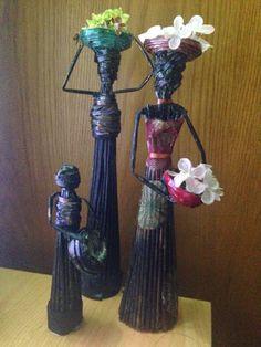Mi Rinconsito de Arte: Damas Africanas