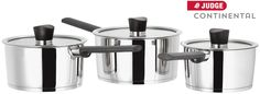 Win a set of 3 Judge Continental Saucepans - ultra shiny and sleek design, suitable for all hob types. Competition open to UK entrants only. Competitions Uk, Competition Giveaway, Continental, Coffee Maker, Cooking Recipes, Cool Stuff, Saucepans, Giveaways, Blog