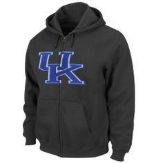 For sale NCAA University of Kentucky Men's Bold Statement Long Sleeve Full-Zip Hooded Fleece, Charcoal, Medium Promo Offer - http://buynowbestdeal.com/33069/for-sale-ncaa-university-of-kentucky-mens-bold-statement-long-sleeve-full-zip-hooded-fleece-charcoal-medium-promo-offer/?utm_source=PN&utm_medium=pinterest&utm_campaign=SNAP%2Bfrom%2BCollege+Memorabilia%2C+NCAA+Sports+Memorabilia - College Apparel, College Gear, College Shop, Jackets, Majestic, NCAA, NCAA Fan Shop, Ncaa S